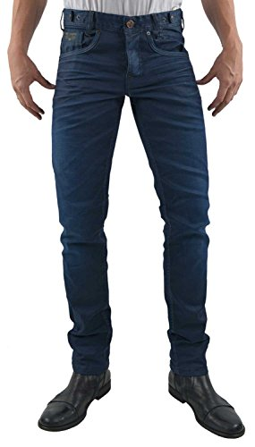 PME Legend Herren Jeans Comfort Denim Skyhawk Regular Slim Fit Blue (82) 34/30