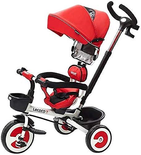 Faltender Kinderfahrrad-Kinderwagen Des Dreiradfahrrads