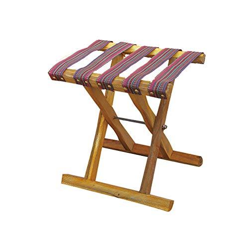 JIEER-C vrijetijdsstoelen klapstoel viskruk kleine bank houten bank buiten Mazza Portable Sketch Chair Street Stall Duurzaam sterk