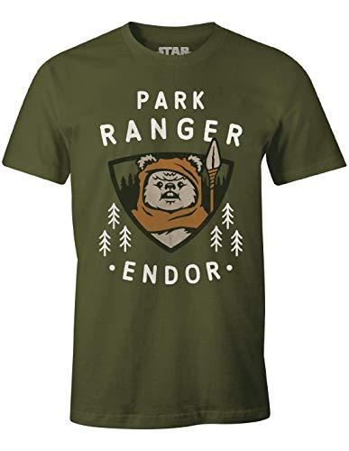 cotton division Herren Meswclats015 T-Shirt, Khaki, L