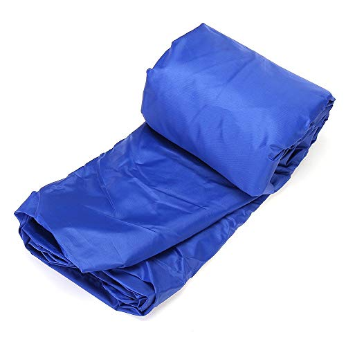 Peng sounded Furniture Covers 11.5' - 14.8' Heavy Duty Open Boat Cover Trailerable Fishing Runabout Waterproof Furniture Protective Cover Cover for Garden (Color : Blue, Size : 4)