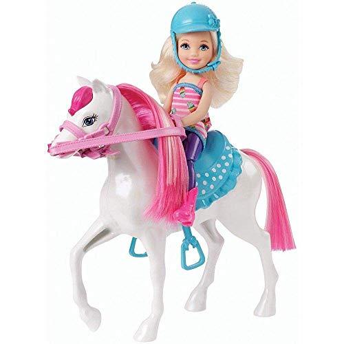 Barbie - Chelsea y Pony, muñeca y su Caballo