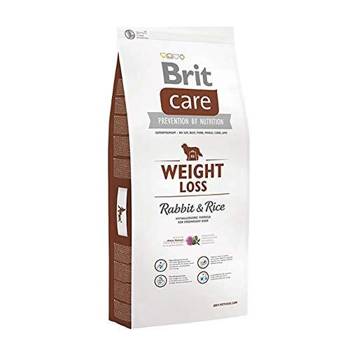 Brit Care Weight Loss al Coniglio e Riso - Ipoallergenico per Cani in sovrappeso - 12 kg