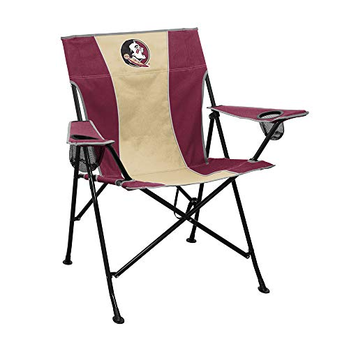 Logo Brands NCAA Florida State Seminoles Unisex Adult Pregame Chair with Two Cups Holder, One Size, Multicolor