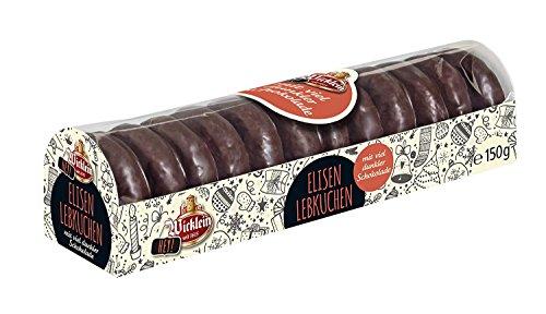 Wicklein Hey Mini Elisen Lebkuchen dunkle Schokolade mit Nuss 150g