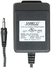 Jameco Reliapro ACU120100Z9121 AC to AC Wall Adapter Transformer 12 VAC @ 1000 mA Straight, 3.5 mm Male Plug, Black