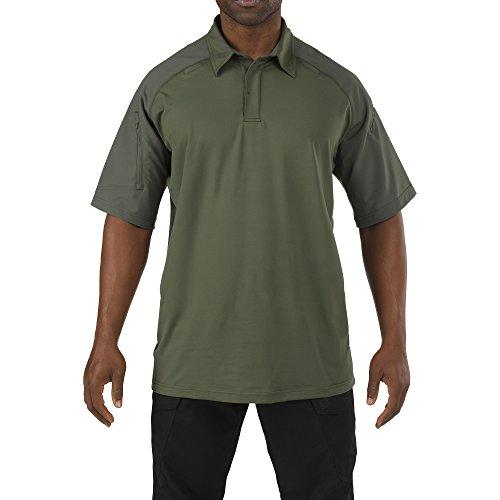 5.11 Men's Rapid Performance Short Sleeve Polo Shirt, TDU Green, X-Large