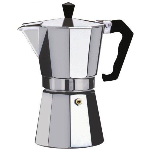 Kabalo 700ml (12-cup) Espresso Stove Top Caffettiera - Continental Moka Percolator Pot in alluminio [700ml (12-cup) Espresso Stove Top Coffee Maker - Continental Moka Percolator Pot Aluminium]