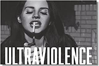 Tomorrow sunny Hot Music Singer Lana Del Rey with Cigarette Art Silk Wall Poster 24x36inch
