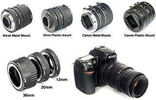 طقم انبوب استطالة ماكرو من مايك 13 مم 21 مم 31 مم لكاميرات كانون