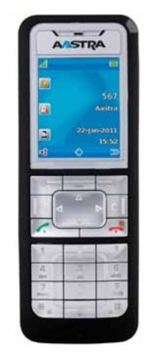 Aastra 620d DECT Komfort-Systemtelefon inkl. Ladeschale für OpenCom 100 und 1000