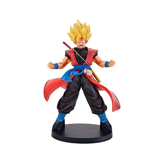 Dragon Ball Son Goku Xeno Figur, Super Saiyajin Samurai Form | 22cm