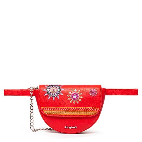 Desigual Ada Nyon Belt Bag Rojo