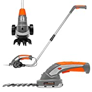 POWERFUL: Perfect for post-mowing touch ups in tight spaces, the Terratek two-in-one Cordless Hedge Trimmer, Topiary Shears boasts a 7.2 volt long-life lithium-ion battery for hassle-free, cordless operation. VERSATILE: Combining two tools into one v...