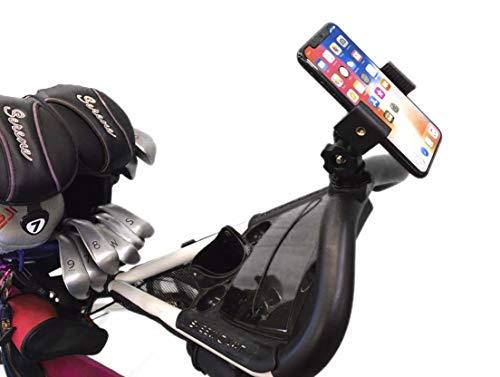 Caddie Buddy Push Cart Umbrella Phone Holder/GPS Holder