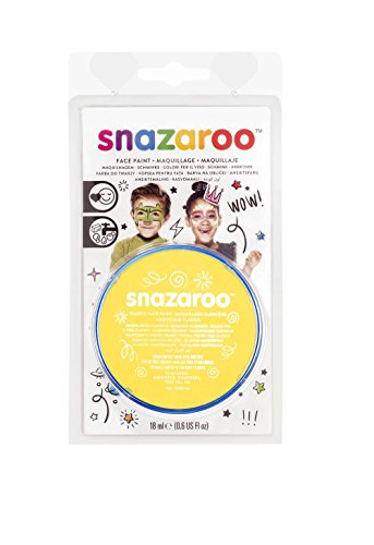 Snazaroo Blister Fard Aquarellable 18ml Jaune