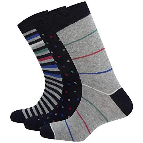 Pepe Jeans Pack Socken Drew Mehrfarbig Herren, Mehrfarbig 43