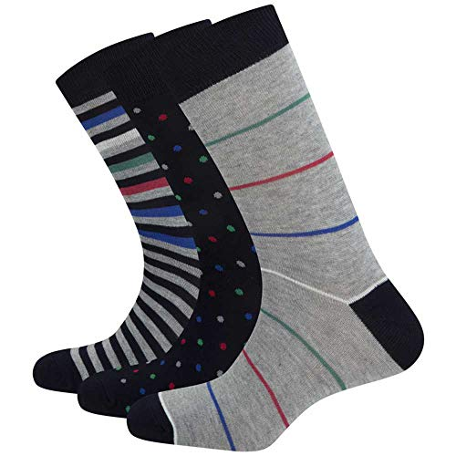 Pepe Jeans Pack Socken Drew Mehrfarbig Herren, Mehrfarbig 34