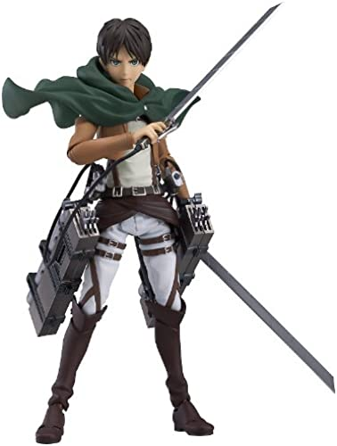 Good Smile Attack on Titan  Eren Yeager Figma Action Figure