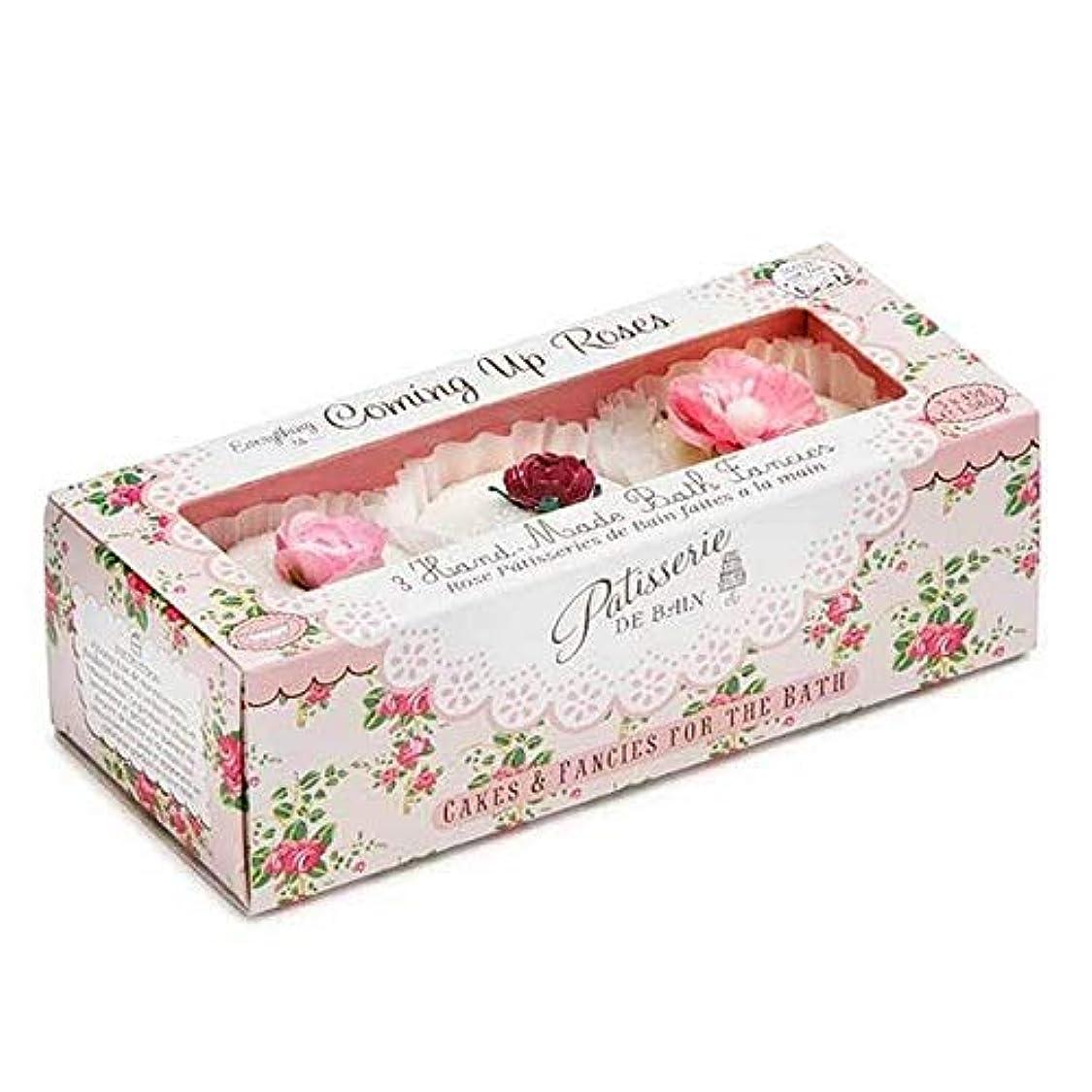 味わう封筒統治可能[Patisserie de Bain ] パティスリー?デ?ベインのすべてのバラ風呂は3×45グラムを溶かし - Patisserie de Bain Everything Roses Bath Melts 3 x 45g [並行輸入品]