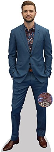 Celebrity Cutouts Justin Timberlake (Blue Suit) Pappaufsteller Mini