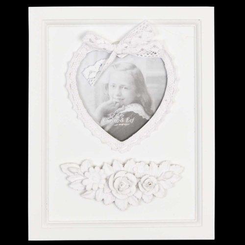 2151 Fotolijst/Fotolijst - Hart ca. 4,3 x 4,3 inch