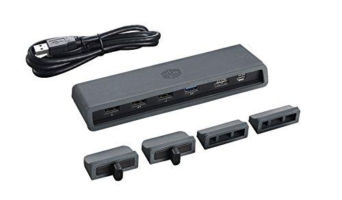 Cooler Master MasterNotepal Pro Notebook-Kühler '2x einstellbare 80mm Lüfter, USB Hub, Kompatibel mit bis zu 17 Zoll Laptops' MNY-SMTS-20FY-R1
