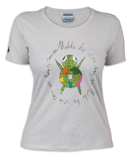 Tatonka T-Shirt makha FR:42 Gris - Gris Argent