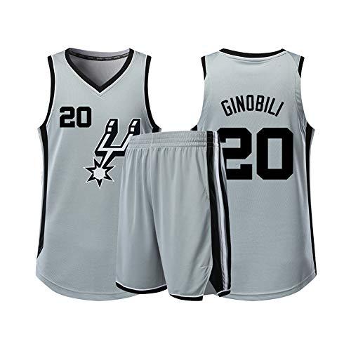 Hanbao Uomo NBA Spurs 10# DeRozan Maglia da Basket