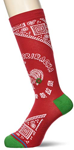 Stance Sriracha Socken Red Größe: L