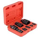 Llaves de Vaso Adaptador, 8x Adaptadores de Enchufe Convertidor Reductor de Impacto...