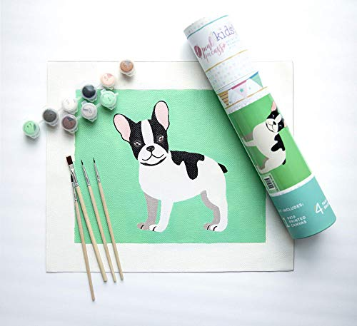 Pink Picasso Kids! Paint by Numbers Kits for Kids (Frenchie French)