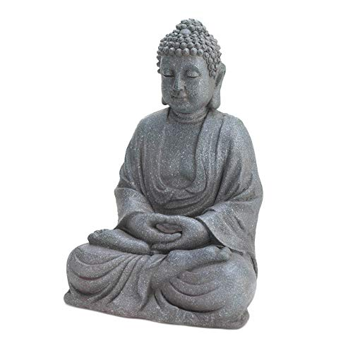 Accent Plus Meditating Buddha Statue 8.5x7x11.5