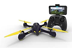 Equipped with HD camera to take photos and videos while flying! Bring a new perspective to your photos and videos from the air. Wifi FPV allows you to view photos & video while flying It supports any IOS and Android phones. The cell phone holder keep...