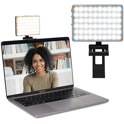 HumanCentric ScreenLight - Video Conference Lighting Kit | Mounts Without Suction Cup | Zoom Light for Computers, Monitors, and Laptops | for Video Calls and Remote Working | Patent Pending