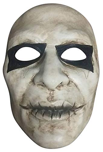 Fancy Me Erwachsene Herren Horror Dilate Halloween Maske gruselig gruselig Kostüm Outfit Zubehör
