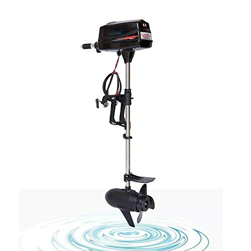 Great Features Of TBVECHI Electric Outboard Motor Outboard Trolling Motor Fishing Boat Engine Trolle...