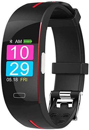 hwbq Reloj Inteligente Bluetooth Monitor Actividad Tracker Hombres s IP67 Impermeable Deportes Smartwatch-C