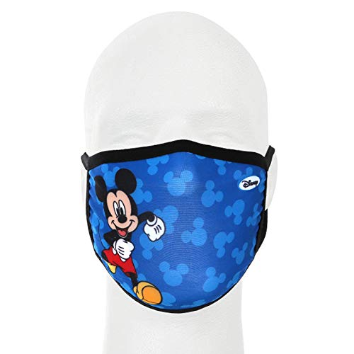 Mickey Running Disney Mickey Mouse Gathered Face Cover – Kids Mask