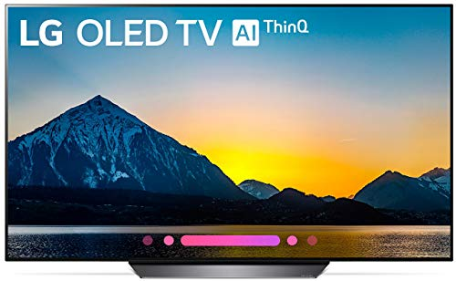 LG Electronics OLED55B8PUA 55-Inch 4K Ultra HD Smart OLED TV (2018 Model) (Renewed)