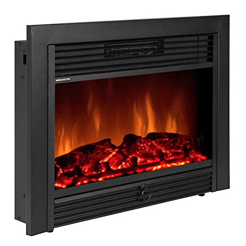 Best Choice Products 28.5in Insert Electric Fireplace