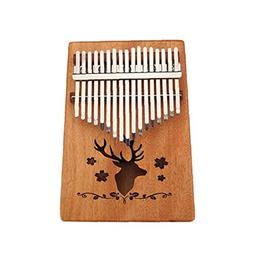 IUwnHceE 1 Satz 17 Keys Mbira Daumenklavier Daumenklavier Kalimba Holz Finger Klavier Mit Tuning Tool Und Tutorial