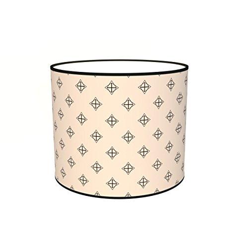 Abat-jours 7111308628063 Imprimé Julie Lampadaire, Tissus/PVC, Multicolore
