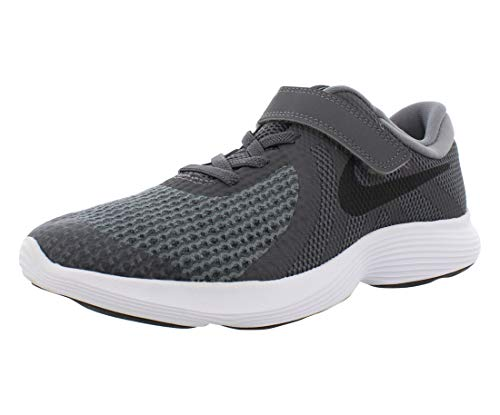 Nike Boys' Revolution 4 (PSV) Running Shoe, Dark Grey/Black...