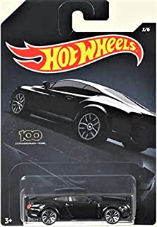 2020 HW Wal Mart Exclusive Black Bentley Continental SUPERSPORTS Exotics Mix Series 3/6 Die Cast Collectible Car