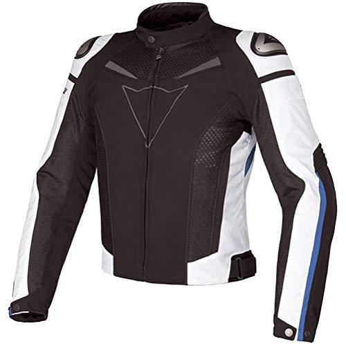 MTTKTTBD Chaqueta Moto Textil Impermeable con Armadura Traje de Ciclismo de Motocicleta Chaqueta Cuatro Estaciones Repelente al Agua de Invierno Traje de Rally Anticaída