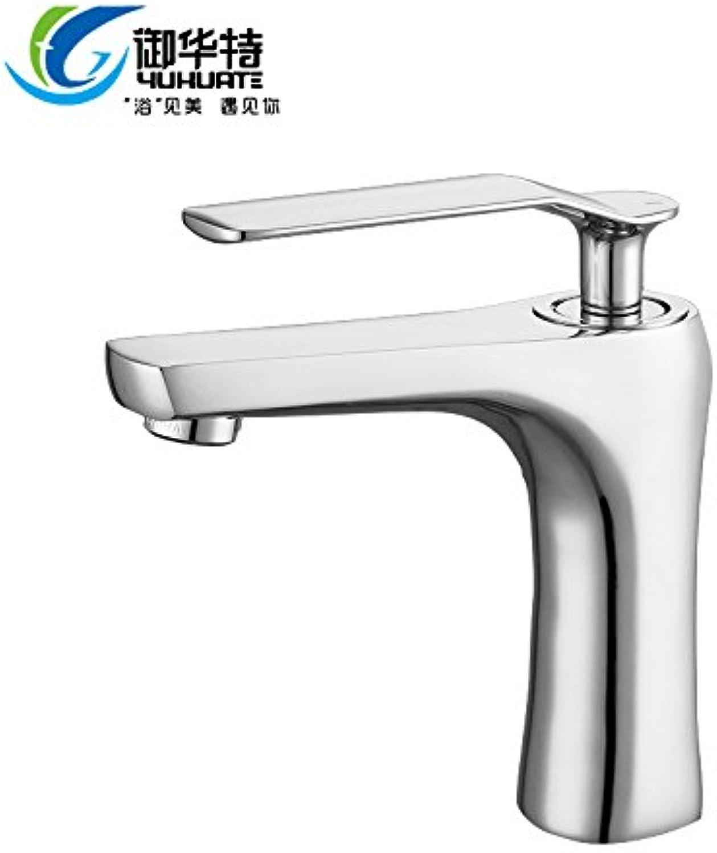 LaLF Europischer Wasserhahn Warm- und Kaltwasserhahn Becken Warm- und Kaltwasserhahn über Aufsatzbecken Waschbecken warm und kalt