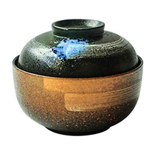 Ciotola Zuppiera ciotola ciotole di ceramica delle famiglie hanno un piatto di spaghetti istantanei giapponese zuppa di noodle ciotola 16,8 * 8,8 centimetri / 15.5 * 5,8 centimetri coperchio articoli