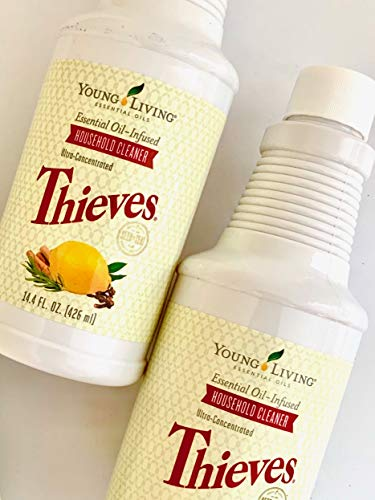 Thieves Household Cleaner 14.4 fl.oz. by Young Living Essential Oils - TWO (2) PACK