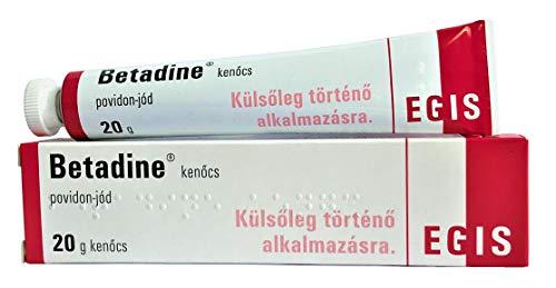 BETADINE 100 miligramos/gramo - 20 gramos ungüento antiséptico Tratamiento de cortes de piel o abrasiones